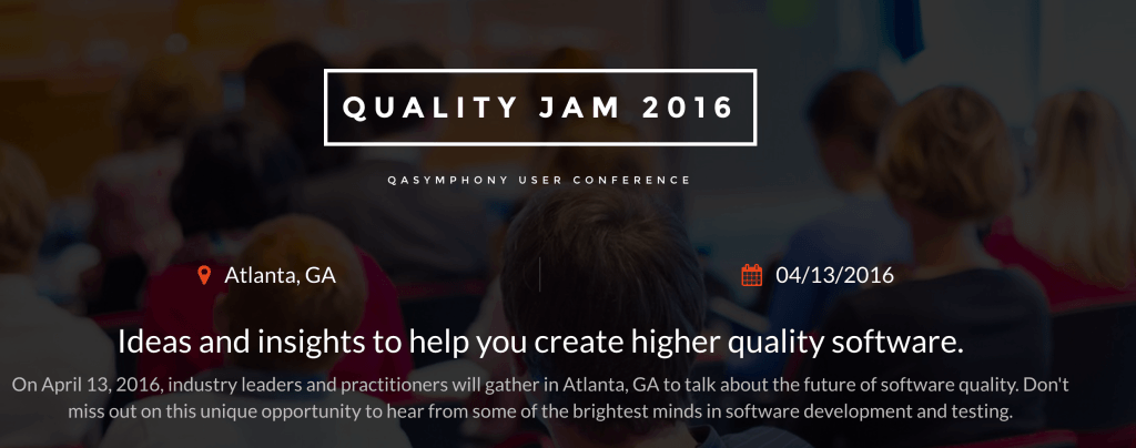 Quality Jam Software Testing Conference