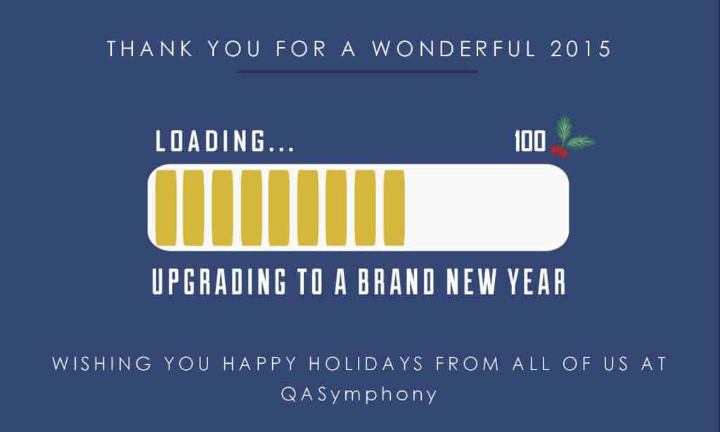 QASymphony 2016 Holiday Card 1
