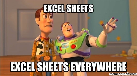 software testing excel template