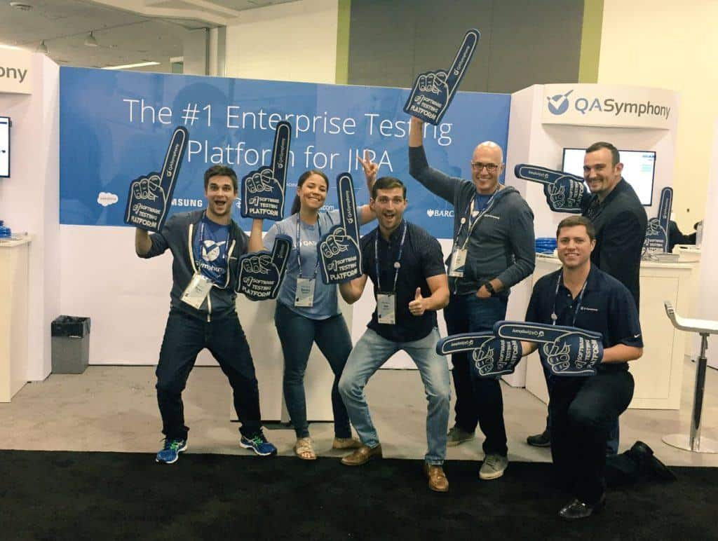 QASymphony Team at Atlassian Summit