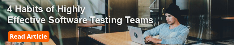 software testing best practices - effective testing teams