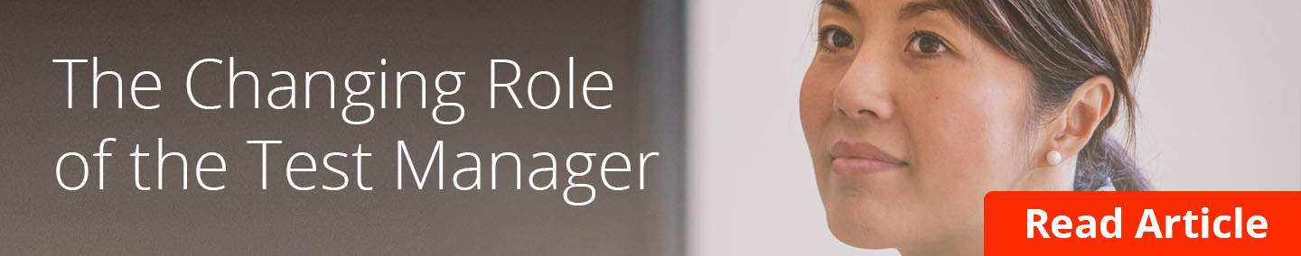 test management - role of test manager cta